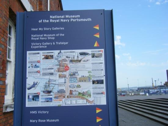 National Museum of the Royal Navy: Dockyard information panel