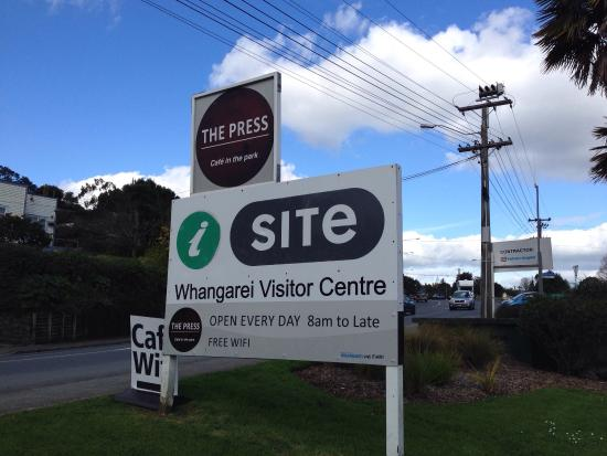 ‪Whangarei i-SITE Visitor Information Centre‬