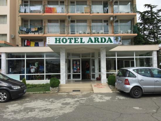 Arda Hotel : Front entrance.