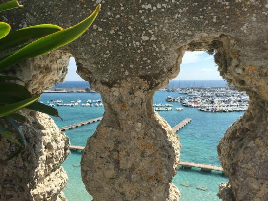 Palazzo de Mori: View from breakfast balcony