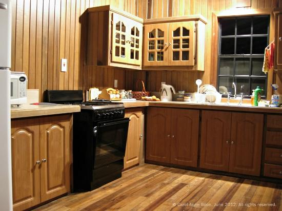 Talparo, Trinidad: fully functional kitchen for self catering guests.