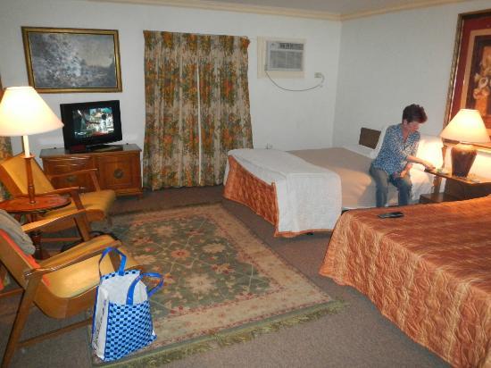 Rittenhouse Motor Lodge: Spacious Room
