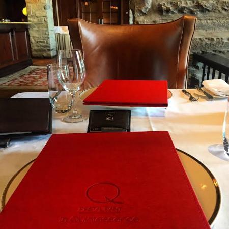 Restaurant La Quintessence: Dinner on July 1st