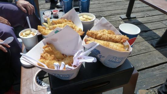 Pajo's Fish and Chips at Garry Point