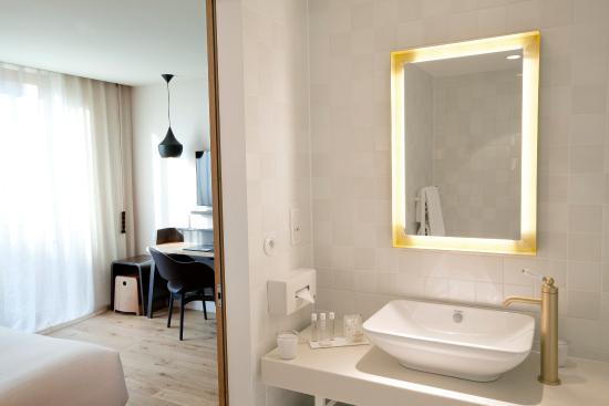 Hôtel Les Haras : Détails chambre