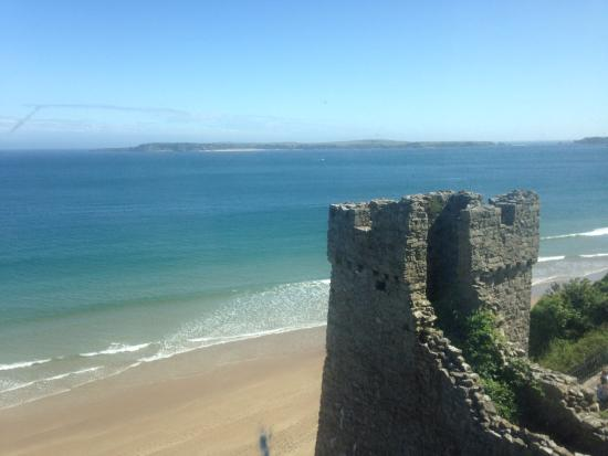 The Imperial Tenby Hotel: View from our bedroom