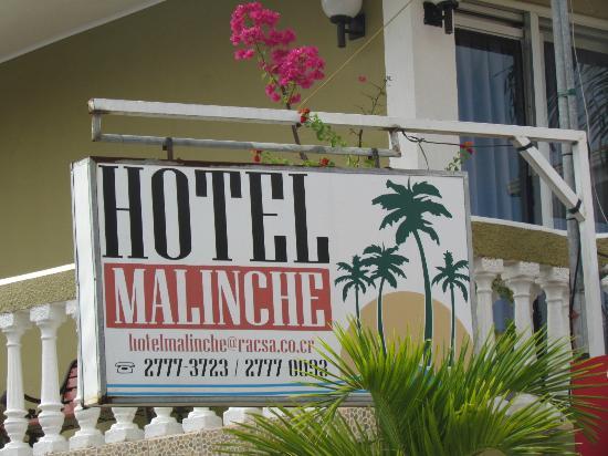 Hotel Malinche: entrada