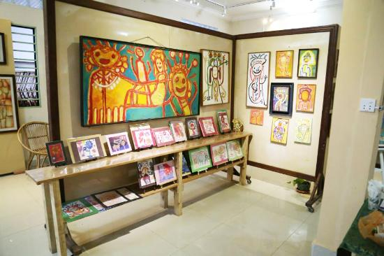 Khmer Kids Art Gallery & Art workshop
