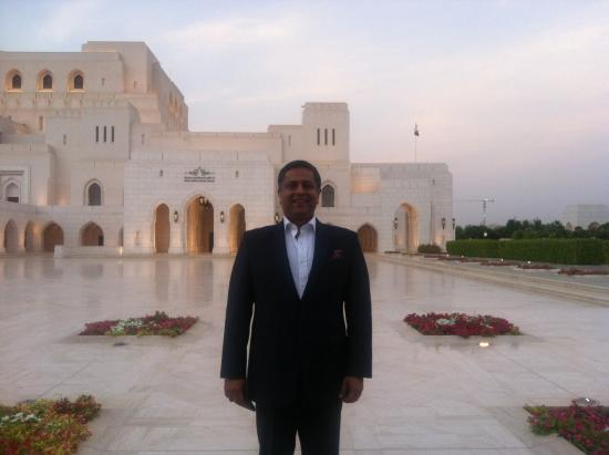 The Indus is located in the Muscat Opera House.