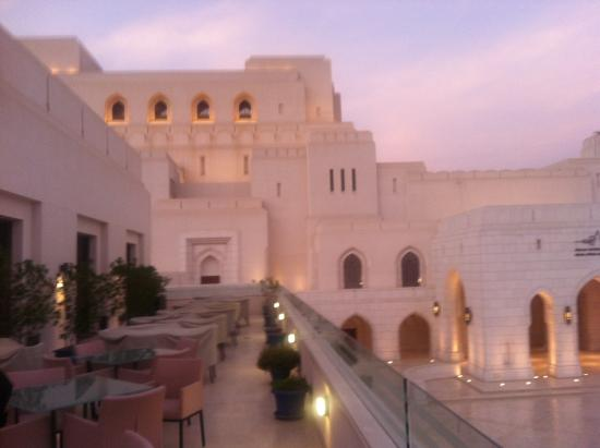 The Indus: View from the restaurant of the Opera House