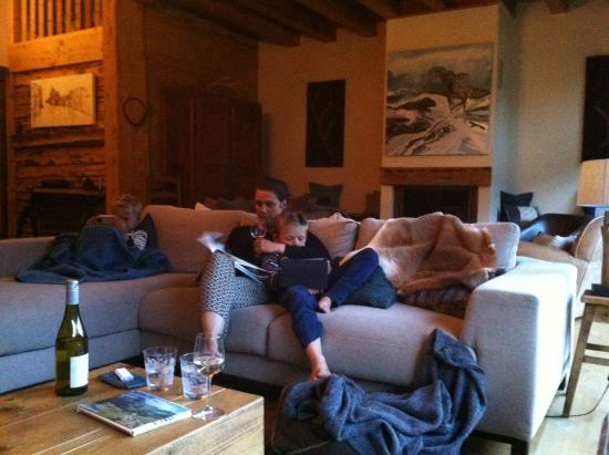 Chalet Cannelle : Lounge