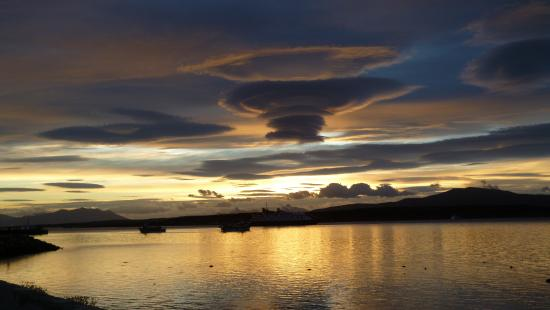 Hotel Martin Gusinde: Vue sur le fjord