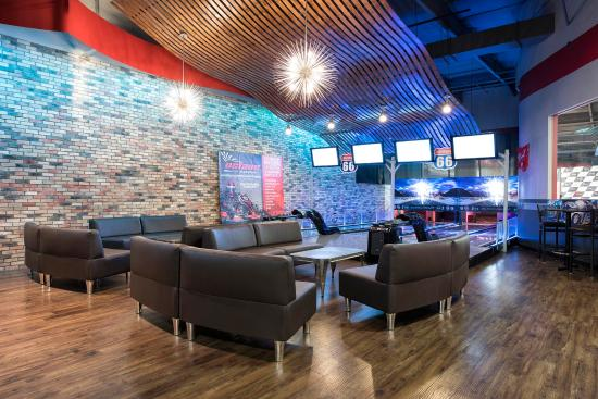Octane Raceway: New Mini Bowling Lounge