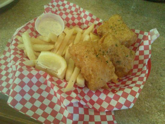 The Smokejumper Cafe: Fish n Chips (Available Gluten Free)