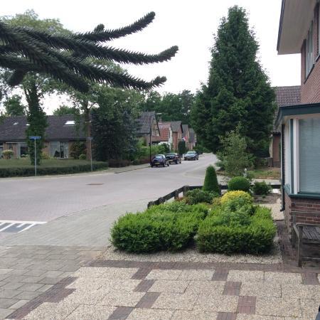 Hotel-Pension Berg en Bos: Вид из окна номера