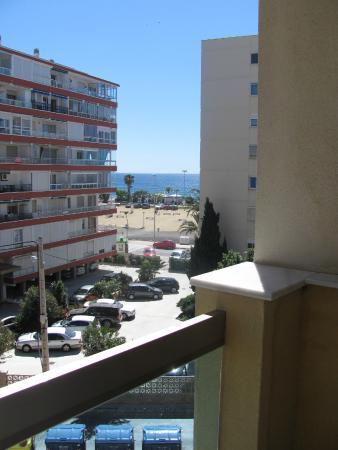 BQ Andalucia Beach Hotel: Udsigt til Middelhavet fra den anden side