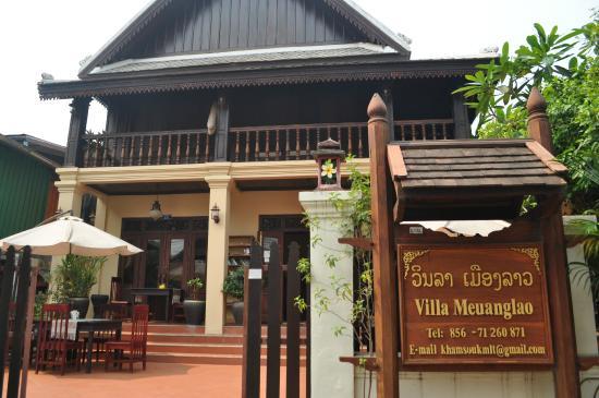 Villa Meuang Lao: Vista frontal