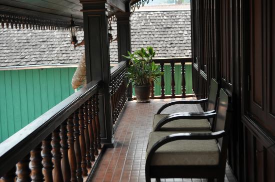 Villa Meuang Lao: Varanda