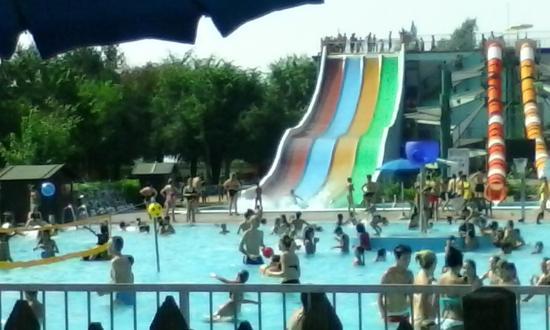Scivoli foto di center park antegnate tripadvisor for Piantina della piscina