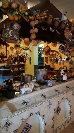 Naolinco, เม็กซิโก: Vista de la cocina