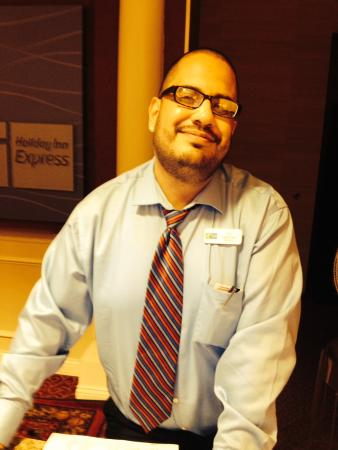 Holiday Inn Express Hotel & Suites Tucumcari: Really nice manager