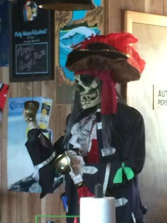 Pirates Pub and Grub: Another Pirate on the Premises!