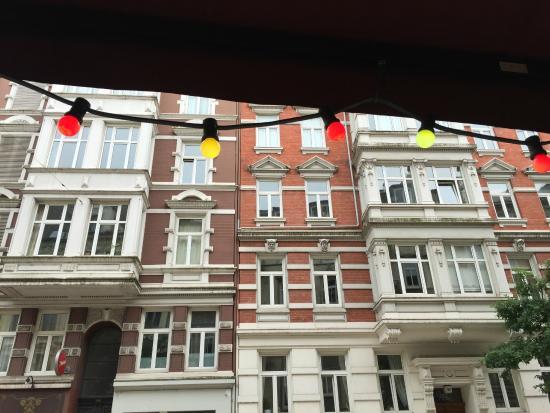 Gnosa Hamburg view from outdoor seating picture of cafe gnosa hamburg tripadvisor