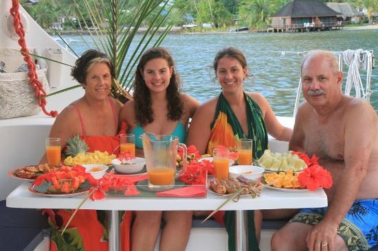 Moorea, Fransk Polynesia: Dinner