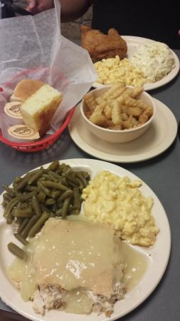 Southern Lunch Catering: Pot Pie, Fried Chicken and sides