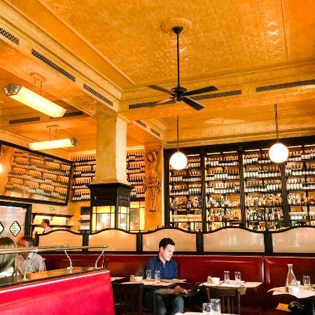 Interior picture of balthazar london tripadvisor for Balthazar reservations