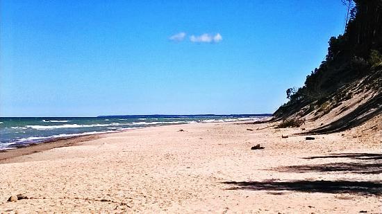 Pilsbergu krogs: Beach - always windy but oh so beautiful