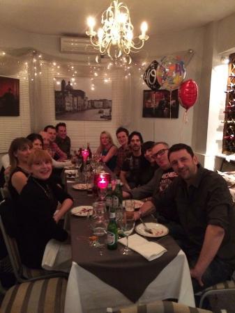 La Tavernetta: Fantastic 40th birthday party !!