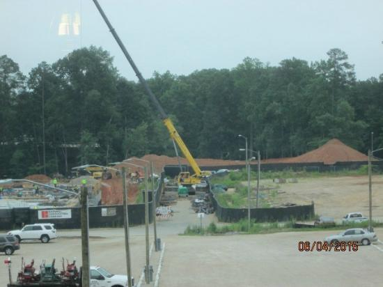 Hyatt House Raleigh North Hills: View from 501