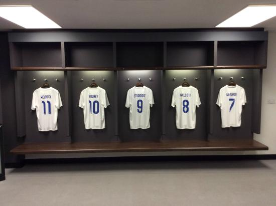 England Changing Room - Picture of Wembley Stadium, Wembley ...