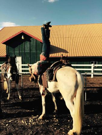 Equestrian Wine Tours: Sarah, one of our guides