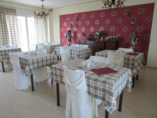 Heraion Hotel: Столовая