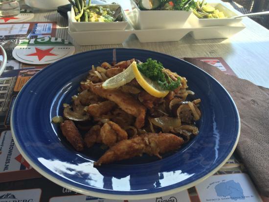 Akkrum, Países Bajos: Schnitzel a la Kromme
