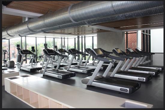 Iowa House Hotel: Exercise Machines