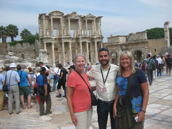 with Serkan in Ephesus - Picture of Ephesus Shuttle Day ...