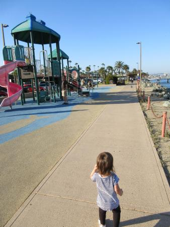 BEST WESTERN PLUS Island Palms Hotel & Marina: Kid's playground on the island (Right across from hotel)