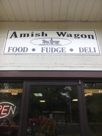 ‪Amish Wagon‬