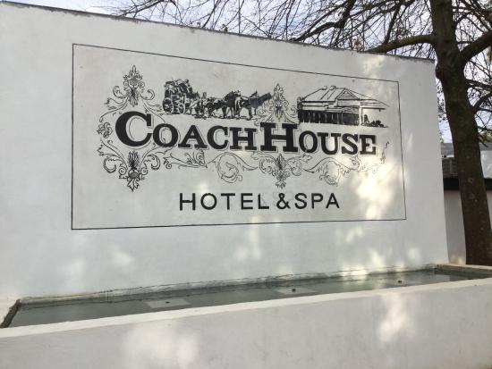 Coach House Hotel & Spa: Grand!