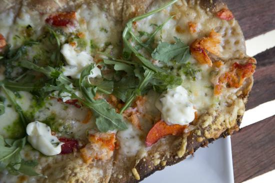 Pilgrim House: Lobster Flatbread