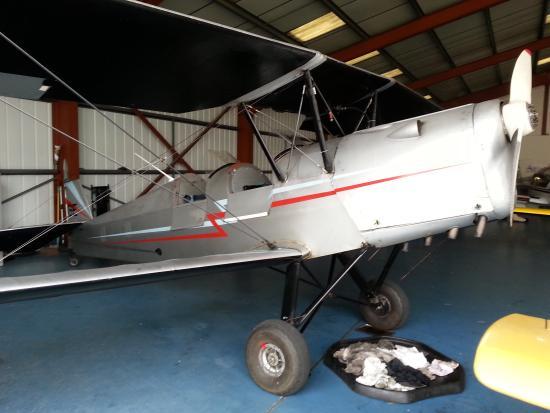 Staverton, UK: The Stampe SV4