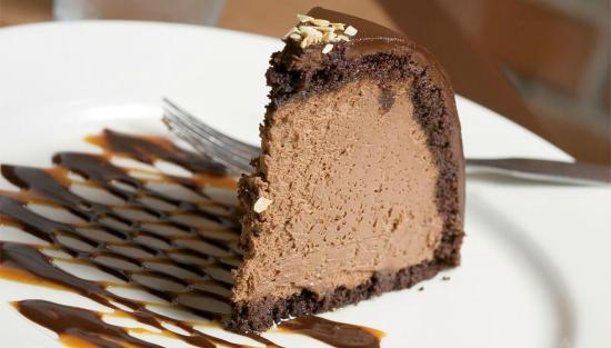 Cafe Eccell : Chocolate Amaretto Mousse Bombe