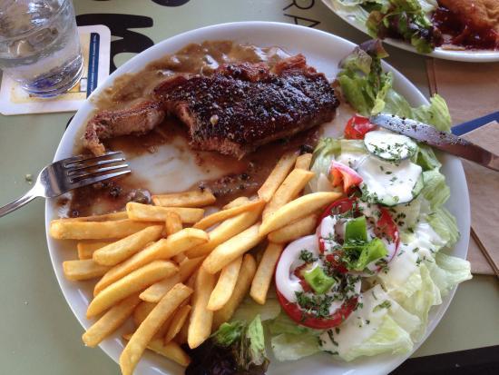 Brisas del Mar: Das Essen war schön serviert und hat sehr gut geschmeckt. Für diesen Preis hätten wir keine solc