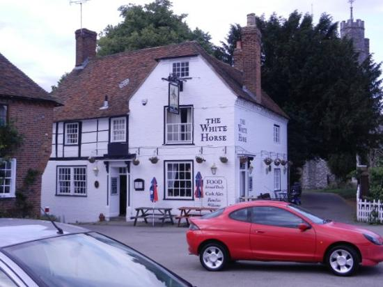 The White Horse: Here is the pub