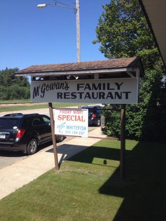 Trout Lake, MI: McGowans