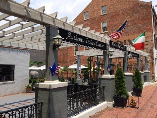 Marias Cafe Italian Restaurant Petersburg Va Picture Of