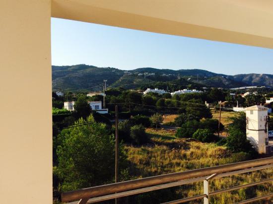 ALEGRIA Alcossebre: Vistas preciosas desde el pasillo de las habitaciones